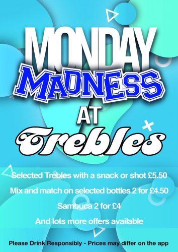 Trebles Monday poster